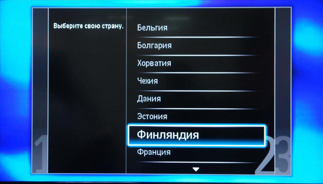 инструкция настройки телевизора philips 4100